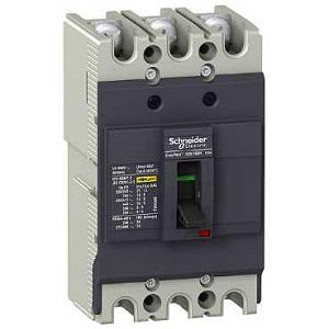 DISJUNTOR 25A 3P EZC100N Tecnologia de disparo Termomagnético