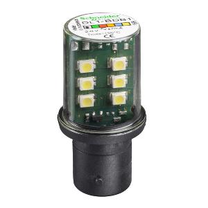 LAMPADA LED PARA BASE BA15D 24V BRANCO